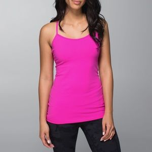 LULULEMON Y tank! With built in bra